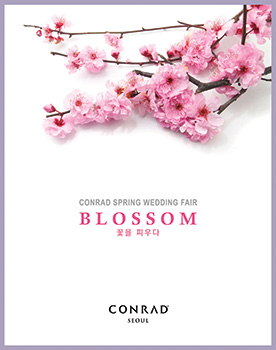 CONRAD WEDDING FAIR, BLOSSOM